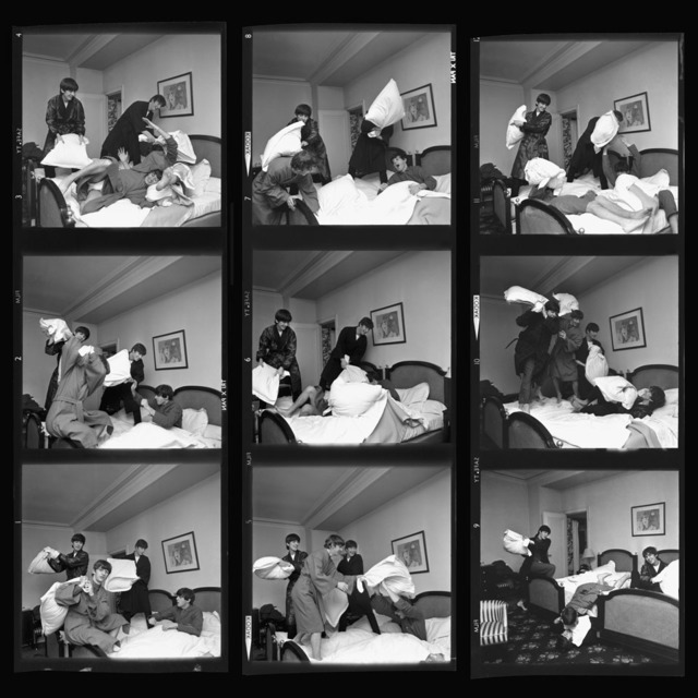 , 'Beatles Pillow Fight Times Nine, Paris,' 1964, TASCHEN