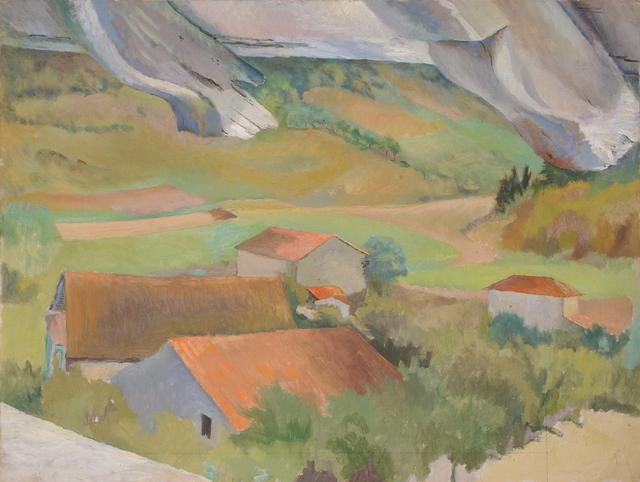 , 'Farm in Provence,' ca. 1968, Robert Eagle Fine Art