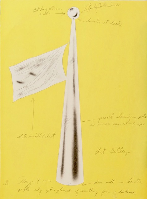 James Rosenquist, 'Art Gallery (from the Estate of Nina Castelli and the Collection of Ileana Sonnabend)', 1971, Alpha 137 Gallery