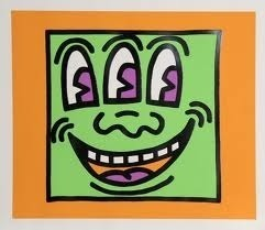 Keith Haring, 'Icons-Face', 1990, Vertu Fine Art
