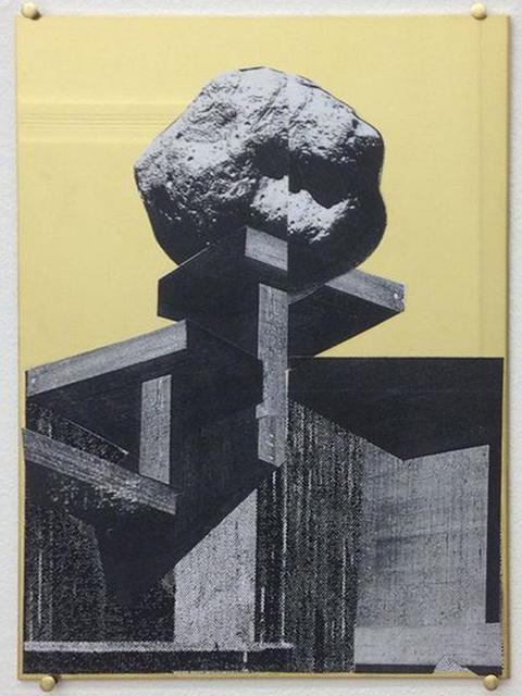 , ' Sockel   ,' 2013, Galerie Pfab