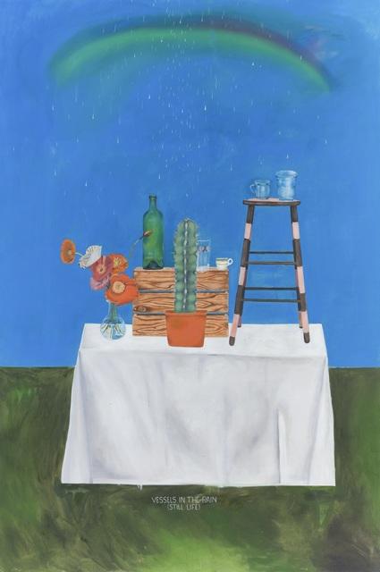 , 'Vessels in the Rain (Still Life),' 2018, Galerie Sébastien Bertrand
