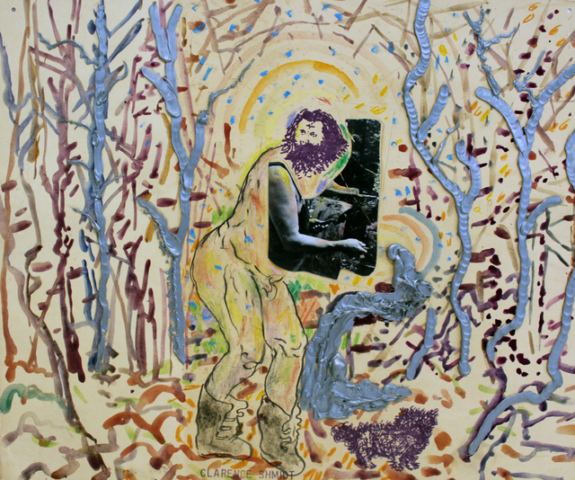 , 'Clarence Schmidt and his Silver Forest ,' 1976, Philadelphia's Magic Gardens
