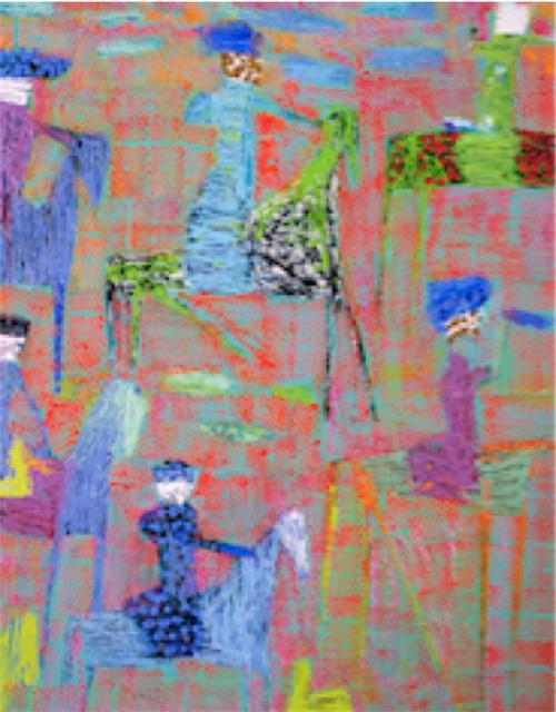 , 'Thread Hunt,' 2017, Setareh Gallery