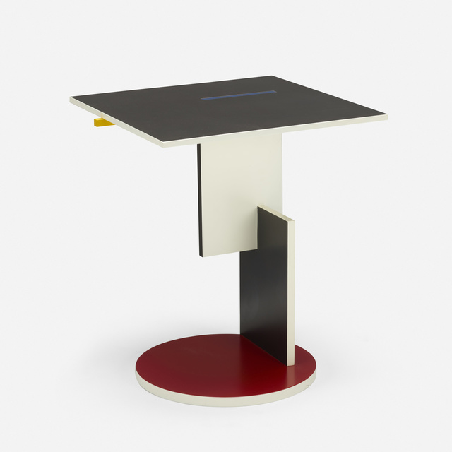 Gerrit Thomas Rietveld, 'Schroeder occasional table', 1924, Wright