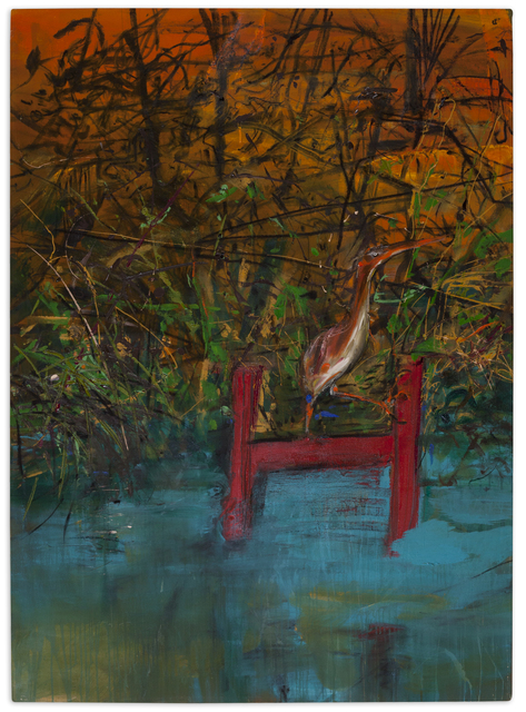 , 'Red Dock at Dawn,' 1991, Christopher Cutts Gallery