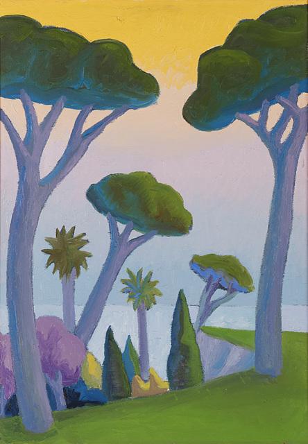 , 'Paesaggio con pini,' 1986, Dep Art
