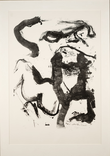 Willem de Kooning, 'Figure at Gerard Beach', 1970, Dallas Museum of Art