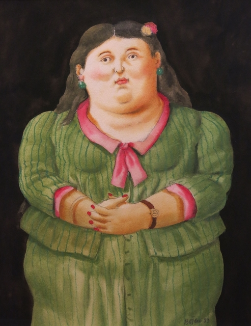 , 'Woman in Green Dress,' 1983, Galerie Thomas