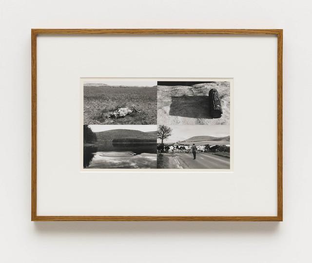 , '/ Untitled (Badlands, South Dakota; Woodstock, New York; Ivinghoe Beacon, Buckinghamshire; Woodstock, New York),' 1969-1970, Bergamin & Gomide