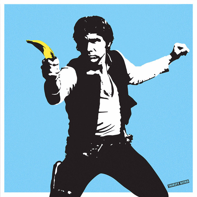 , 'Han Solo Banana Gun,' 2017, Reem Gallery