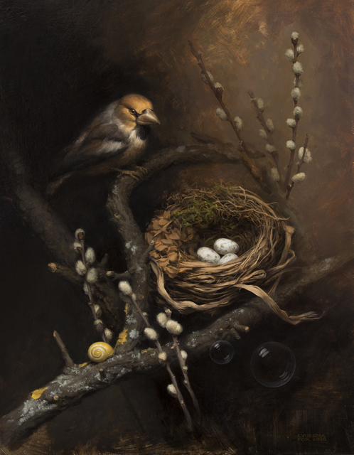 , 'The Nest,' 2018, Snow Pearl Art Gallery