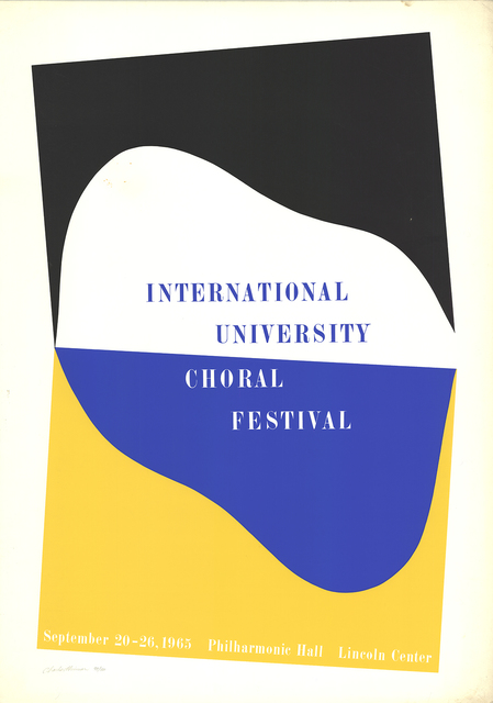 Charles Hinman, 'International University Choral Festival', 1965, ArtWise