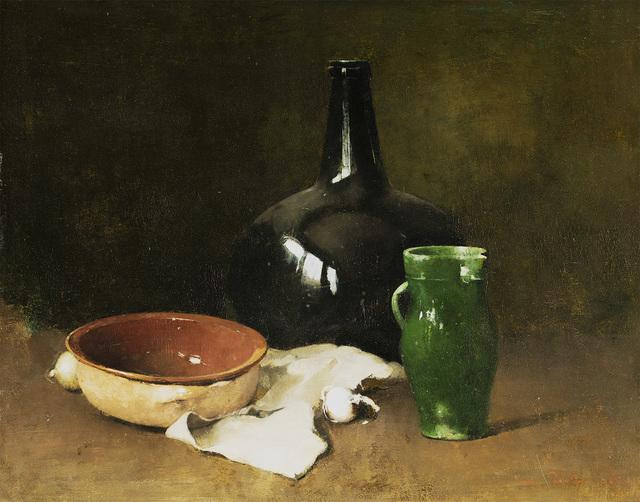 , 'Carlsen-Still Life with Green Pitcher,' 1905, Questroyal Fine Art