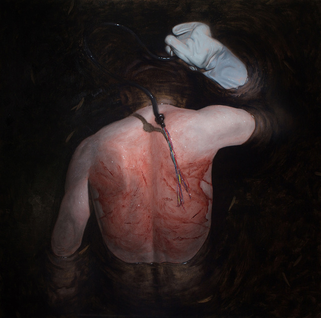 Dragan Bibin, 'Unfinished #19, Baptism', 2016, Painting, Oil on linen, Laufer