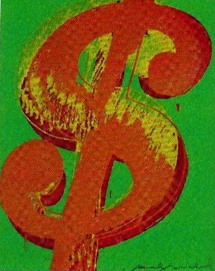 Andy Warhol, '$ (One) Dollar', 1982, Kings Wood Art