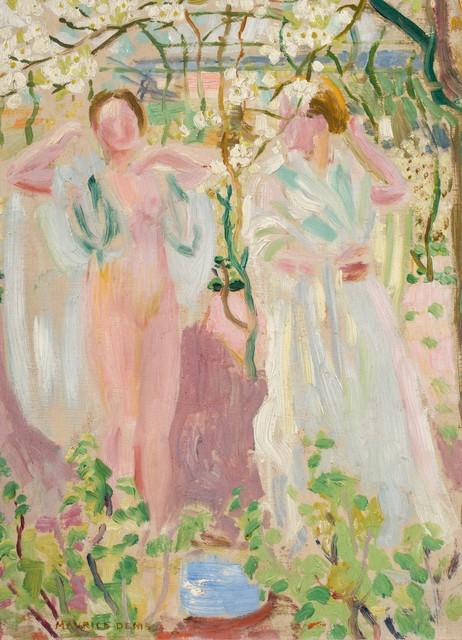 Maurice Denis, 'Deux femmes sous un arbre', ca. 1906, BAILLY GALLERY