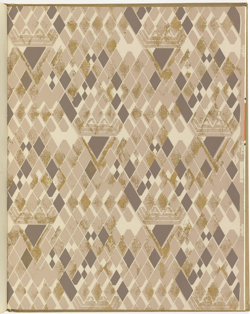 Frank Lloyd Wright, 'Taliesin Line of Decorative Wallpapers,' 1956, Cooper Hewitt, Smithsonian Design Museum