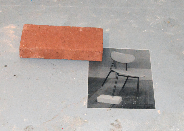 , 'BRICK AND REFERENCE: UNBALANCE / DIFFERENCE IN LEVEL,' 2018, Hans & Fritz Contemporary