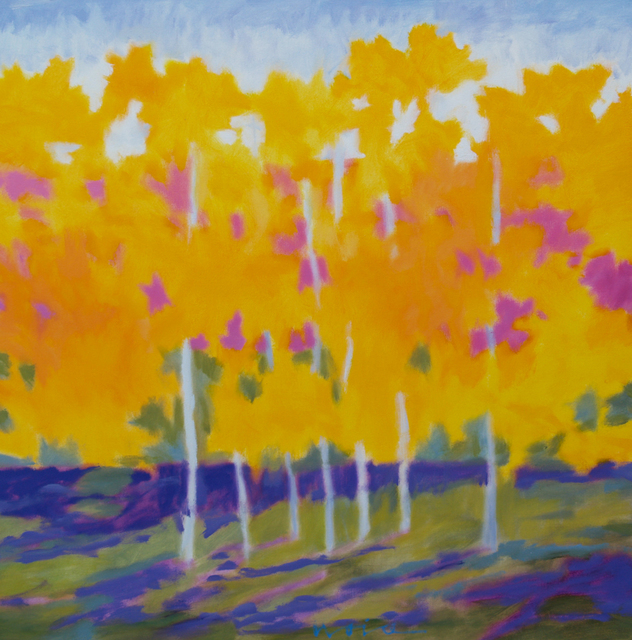 , 'Early Morning, Seven Norway Maples,' , Merritt Gallery