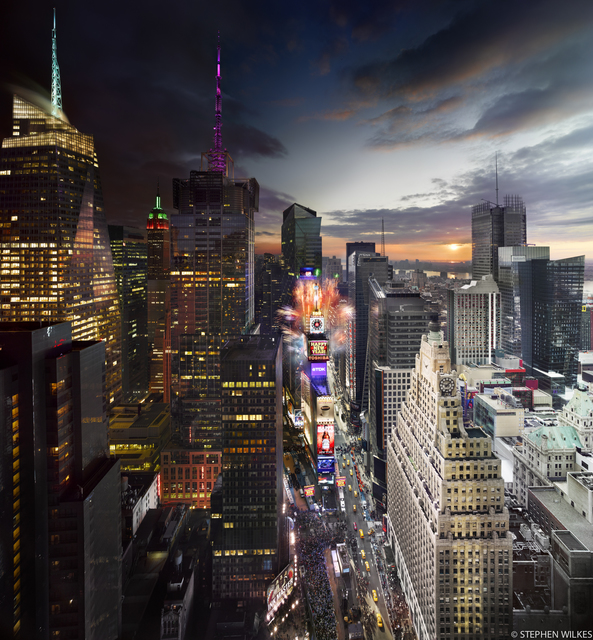 , 'Times Square, New Years Eve - Day to Night,' , ARTITLEDcontemporary