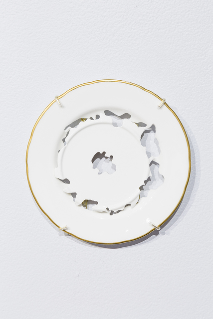 , 'Untitled Plate Study,' 2015, Ferrin Contemporary