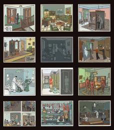 Vladimir Grig, '13 rooms,' 2012, Phillips: New Now (December 2016)