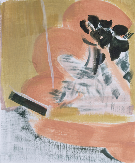 Charlotte Edsell, 'Callista II', 2021, Painting, Oil on paper, Candida Stevens Gallery