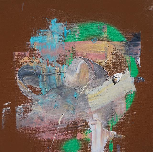 ", '""energy study"" (gold),' 2016, Mugello Gallery"