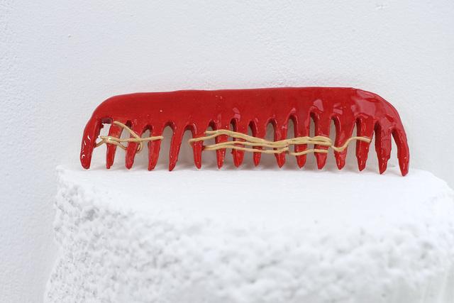 , 'Red Comb ,' 2018, Daniel Benjamin Gallery