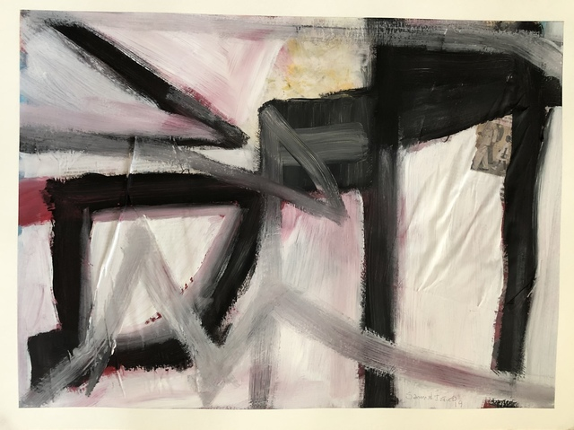 , 'Abstract in Pink,' 2019, Imlay Gallery