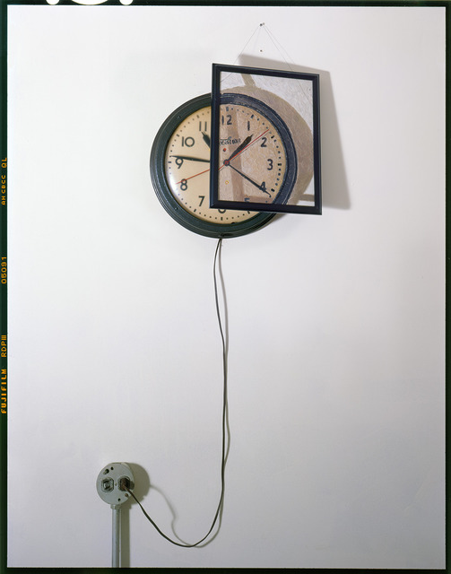 , 'Clock, Outlet and Painting on Wall,' 2011, Wall Space Gallery
