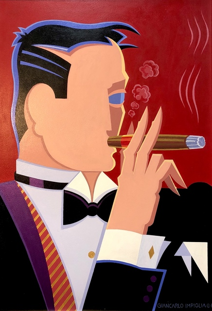 , 'Cigar Smoker,' 2018, Counterpoint Contemporary Fine Art