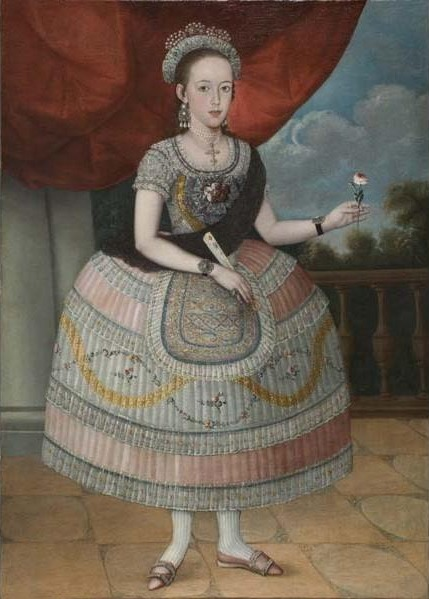 Pedro José Díaz (attributed to), 'Portrait of a Young Woman', 1795-1810, Davis Museum