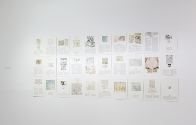 , 'The Archive of Phantom Islands,' 2011, Center for Contemporary Art - Tel Aviv