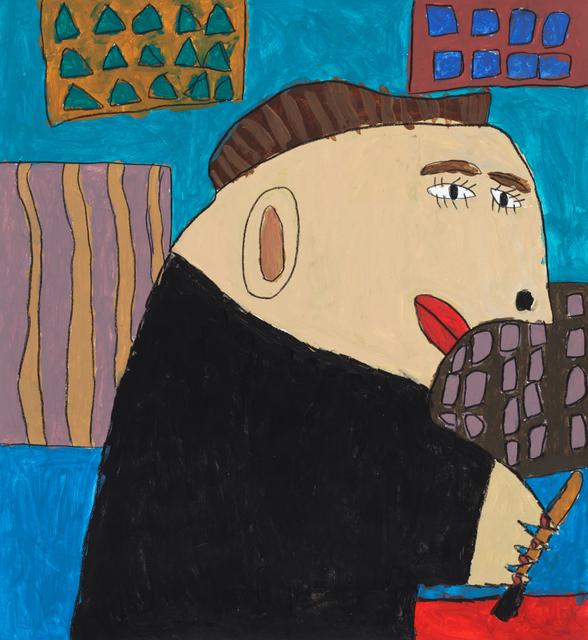 , 'Portrait Bridget Riley,' 2019, Creativity Explored