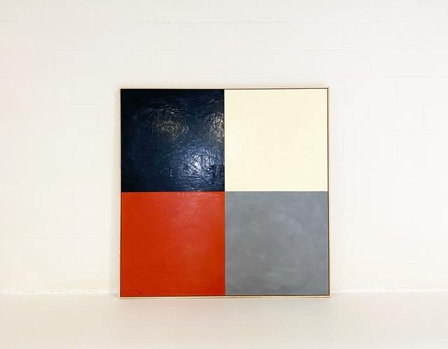 John O'Hara, 'Square Dance, 3.', 2020, Painting, Encaustic on Board., Forsyth