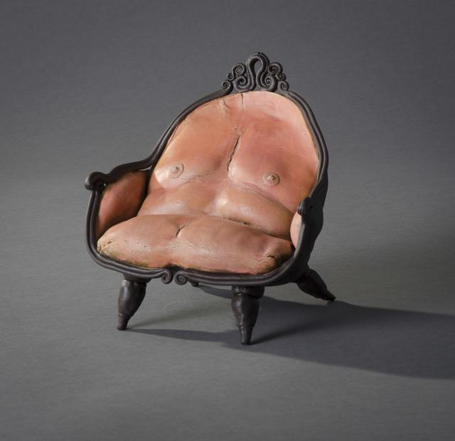 , 'Dark Purple Crown Chair,'  , Hieronymus