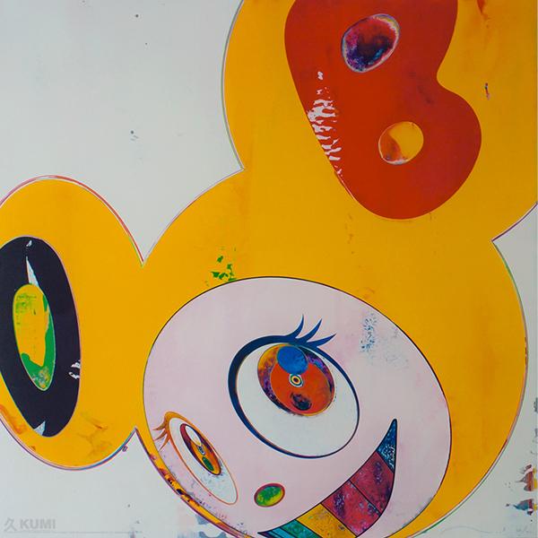 Takashi Murakami, 'Yellow Jelly DOB', 2006, Kumi Contemporary / Verso Contemporary
