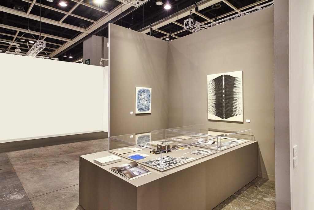 Kukje Gallery/Tina Kim Gallery Kabinett Booth 1C12 installation view. Art Basel | Hong Kong, 2017. Photo by Jason Bonello. Image provided by Kukje Gallery