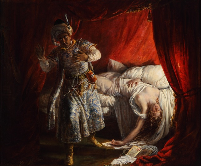 , 'Othello and Desdemona,' 1829, New Orleans Museum of Art