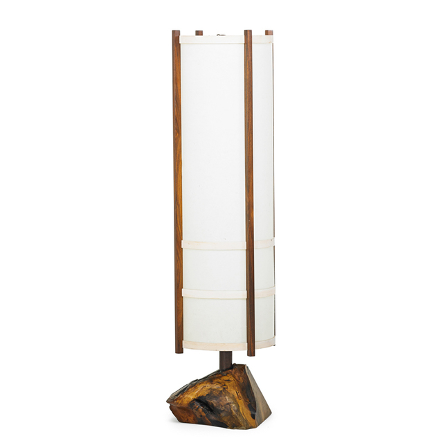 George Nakashima, 'Kent Hall Floor Lamp, New Hope, PA', 1965, Rago/Wright
