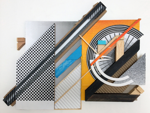 , 'Assemblage sur carton #2,' 2018, Mirus Gallery