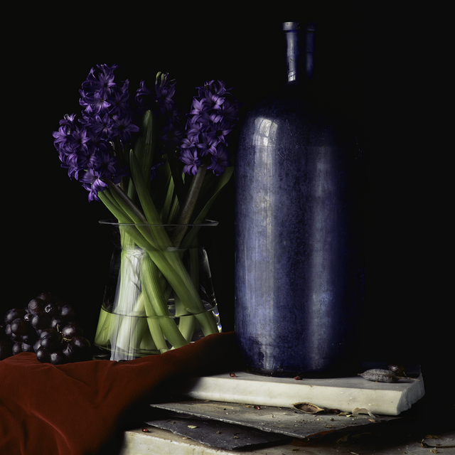 , 'Still Life with Hyacinth and Grapes,' , Pucker Gallery