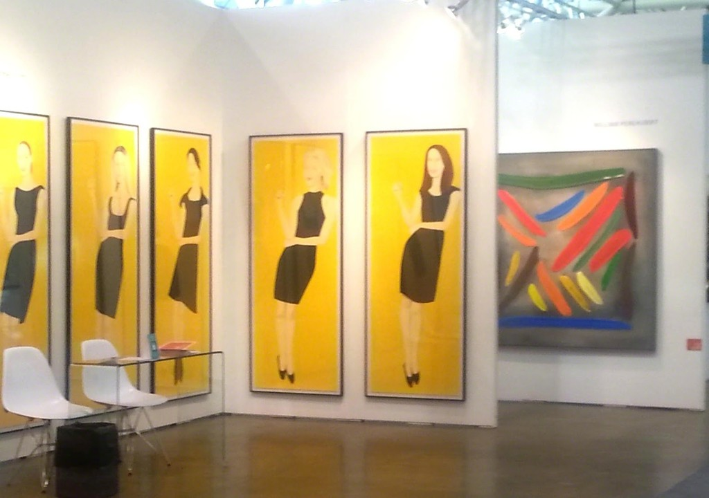 ART Toronto 2015 : Alex Katz, William Perehudoff