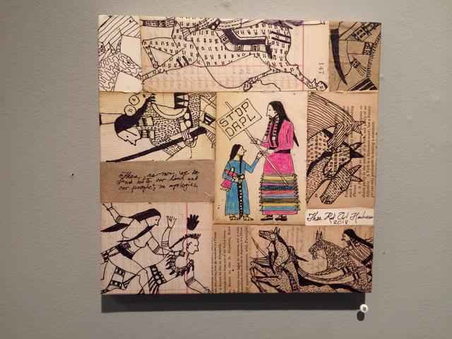 , 'Stop DAPL,' 2018, John Molloy Gallery