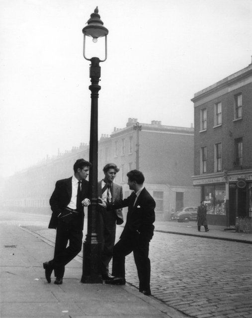 , 'Too Many Spivs, Notting Hill Gate,' 1942, The Photographers' Gallery