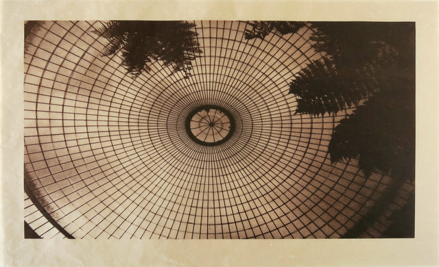 , 'Oculus Dome, Kibble Palace, Glasgow (sepia),' 2018, CMS Art Projects