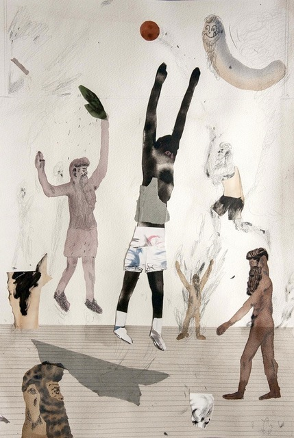 , 'A Game of Basketball in Athens Apartment,' 2014, Asya Geisberg Gallery