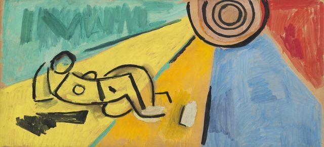 , 'Proyecto de Mural,' 1962, Galeria Sur